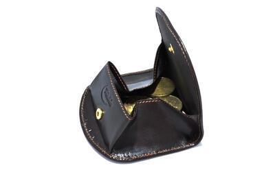 Peněženka na drobné kožená - 3