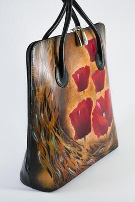 Dámská kabelka kožená - 4